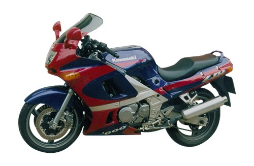 "ZZR 600 - Touring windshield ""T"" 1993- - Image 1"