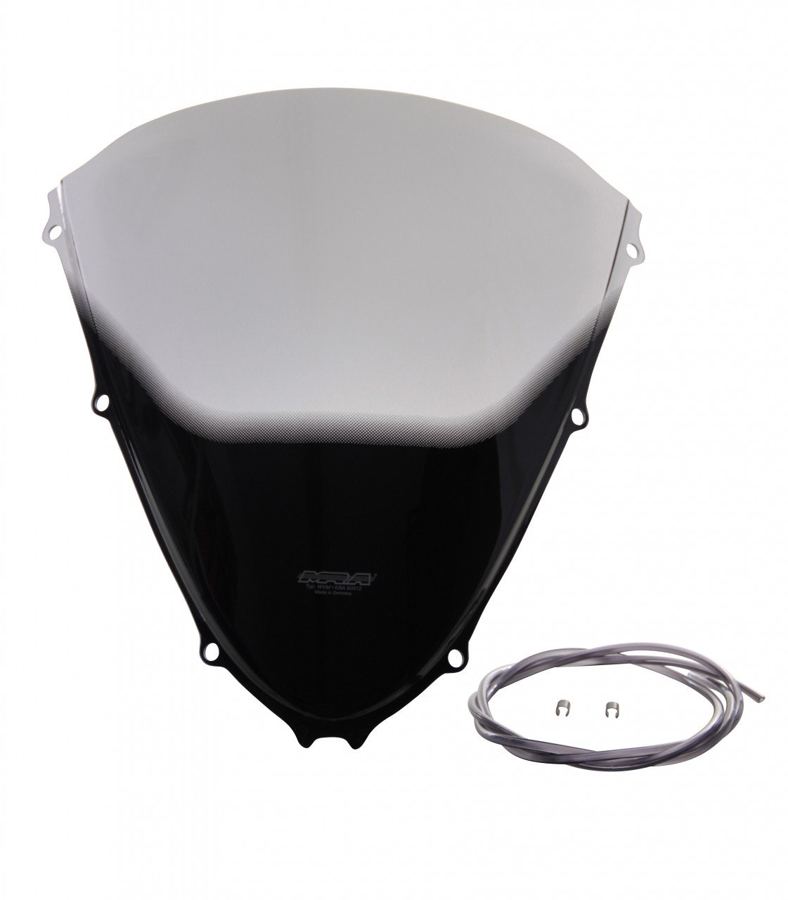 "ZZR 1400 / ZX 14 R - Originally-shaped windshield ""O"" 2006- - Image 1"