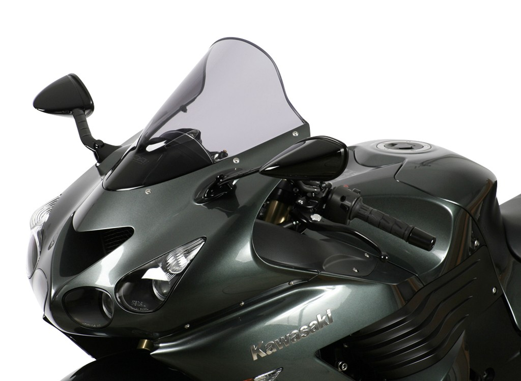 "ZZR 1400 / ZX 14 R - Racing windscreen ""R"" 2006- - Image 1"